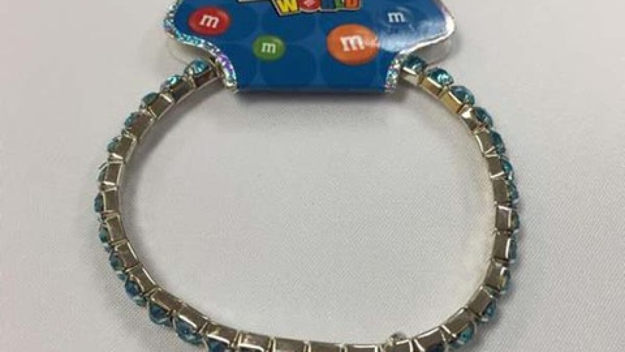 M&M branded jewelry recalled due to lead levels