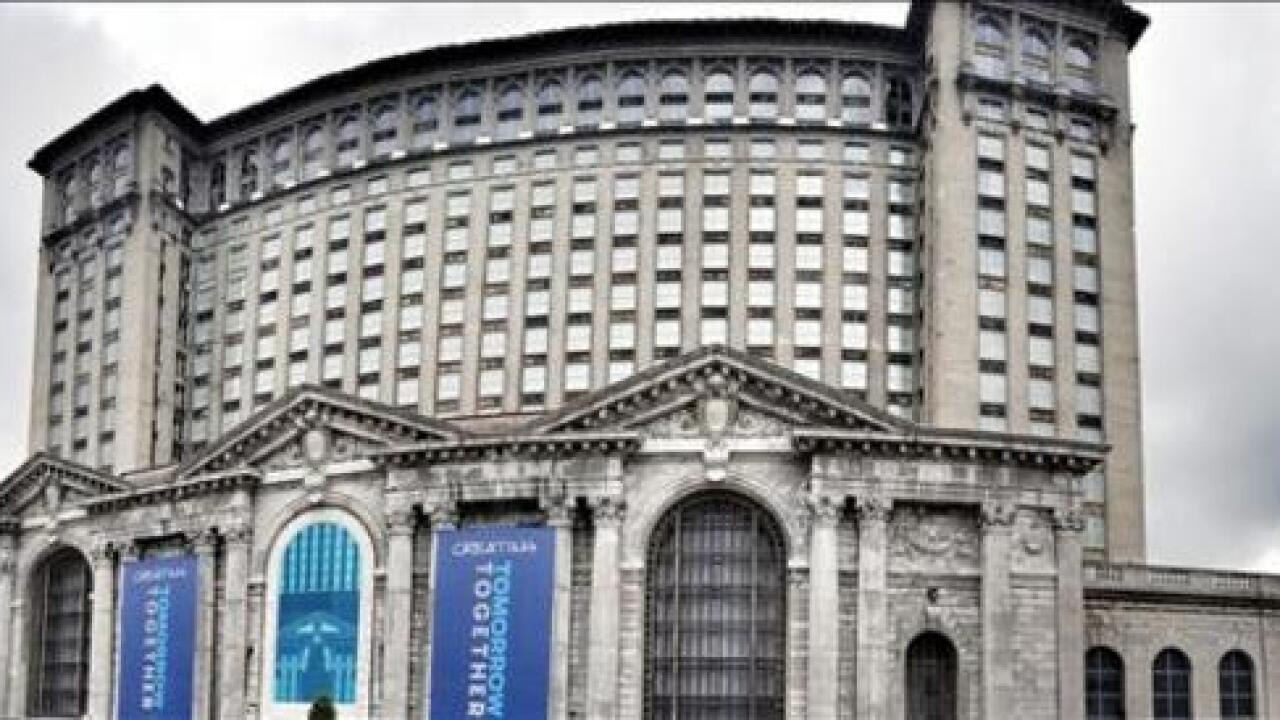 PHOTO GALLERY: Inside Michigan Central Station