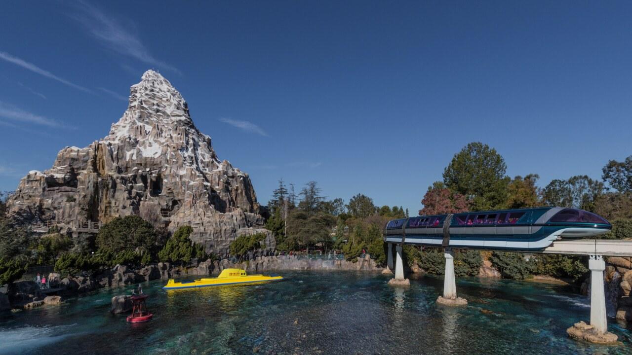 Present Day Photo: Disneyland Attractions Celebrate 60th Anniversary