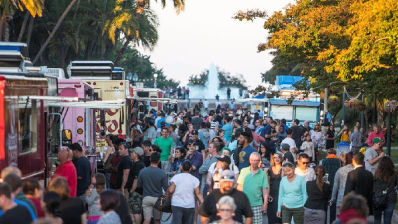 More than a dozen food trucks hit San Diego for five-day festival