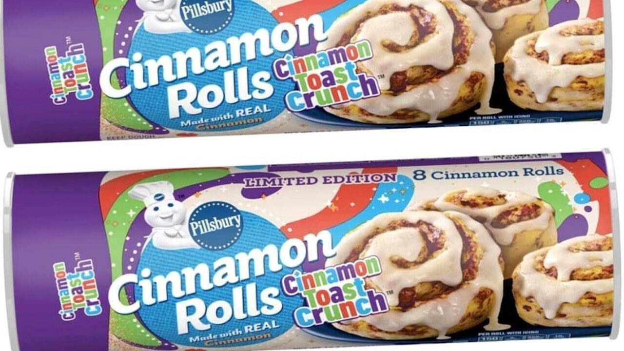 Pillsbury Is Making Cinnamon Toast Crunch Cinnamon Rolls