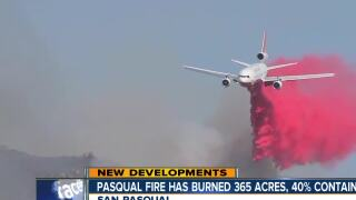 Ramona residents who saw the Pasqual Fire up close