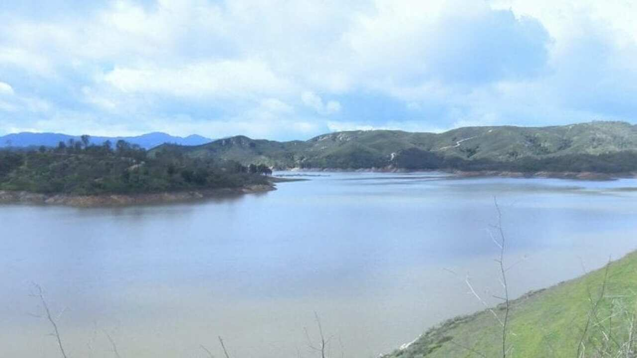 Lake Nacimiento levels rise with recent rainfall