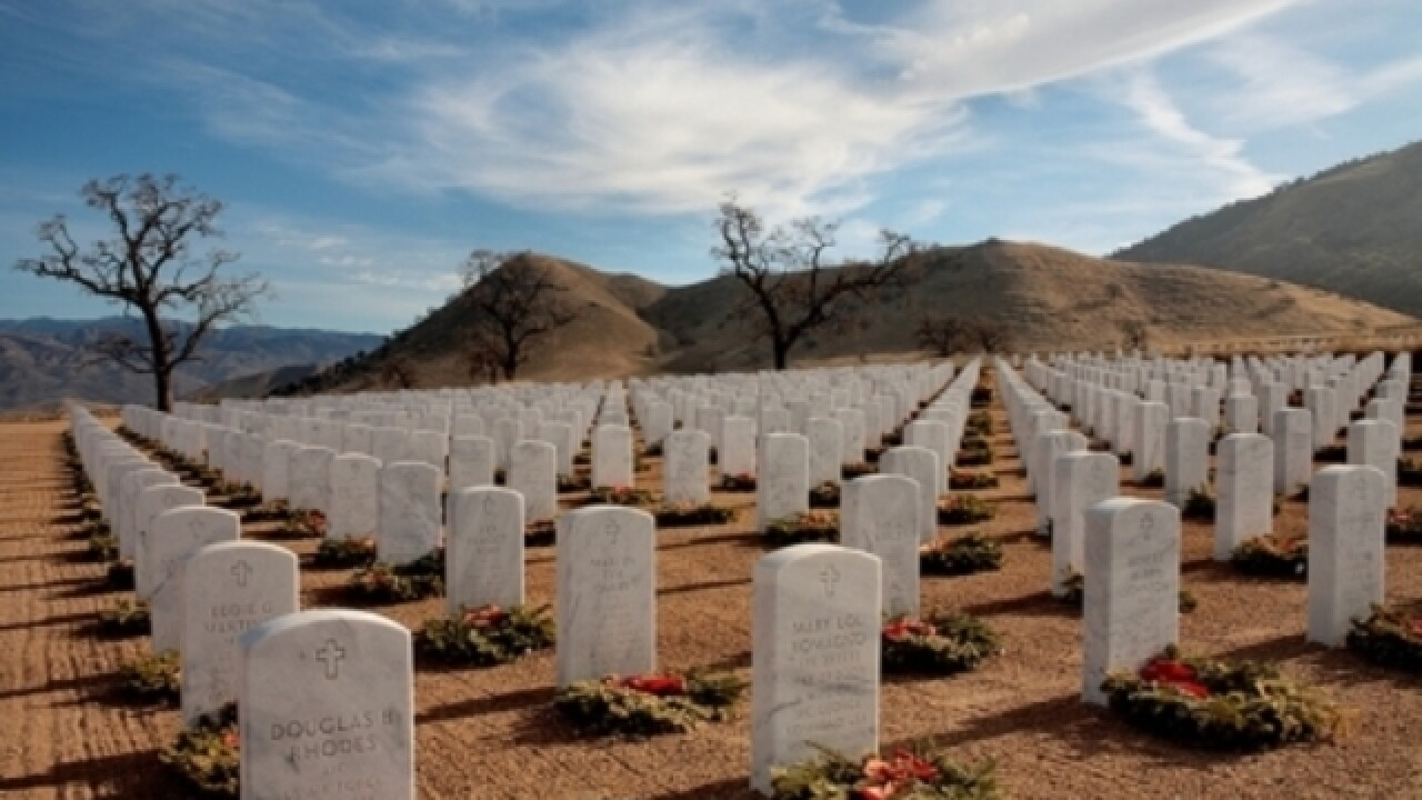 Bakersfield National Cemetery hosting Wreaths Across America