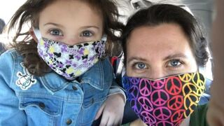 Helping your kids wear a face mask