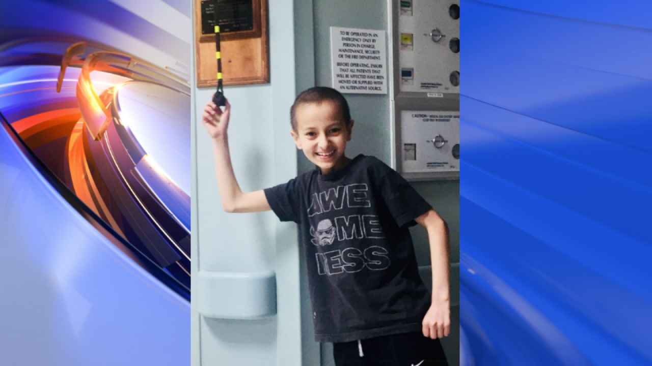 12-year-old York County boy battling cancer passes away