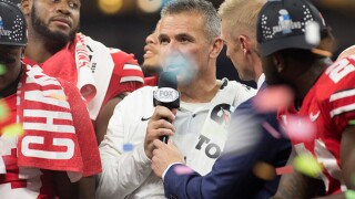 Ohio St beats Wildcats for Big Ten crown, hopes it's enough