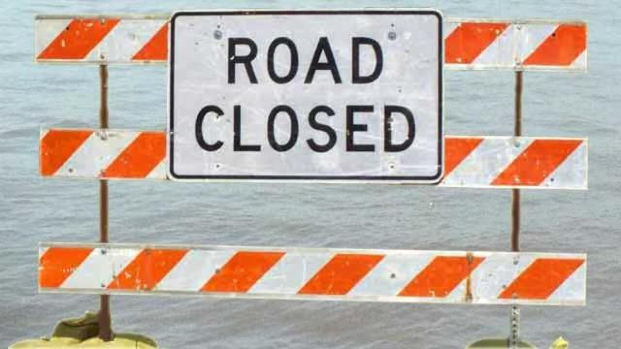 MLK Jr. Boulevard closed due to water main break
