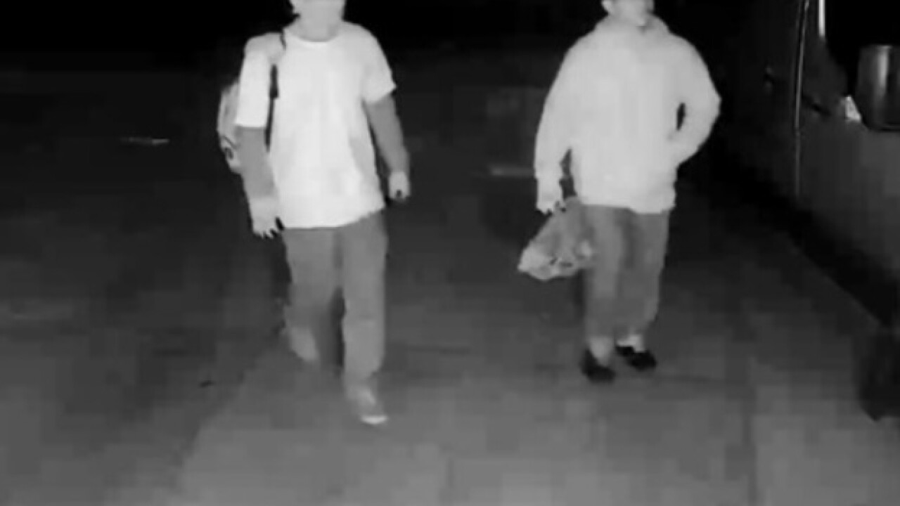 BPD search for two residential burglary suspects