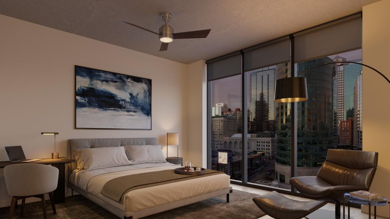 13 - Three Light Two-Bedroom Unit 2B Bedroom.jpg