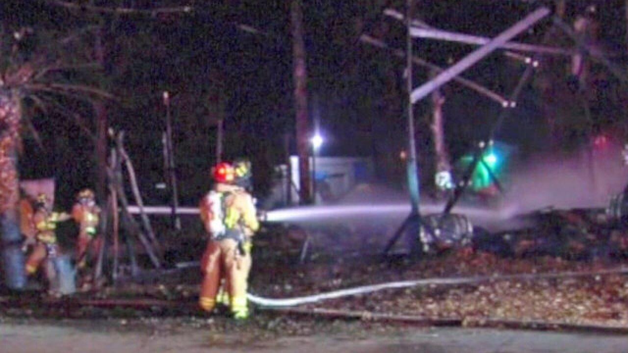 Martin County nativity scene burns to the ground