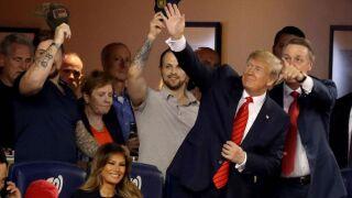 President Trump draws boos from Washington crowd at World Series