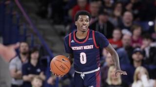 Antoine Davis Detroit Mercy Gonzaga Basketball