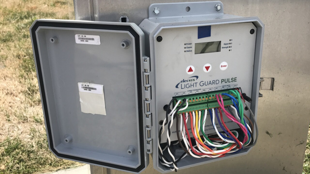 Olathe company's tech helps deter copper thieves