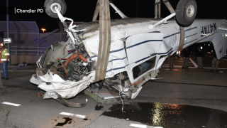 Body camera video Loop 202 and McClintock Plane Crash