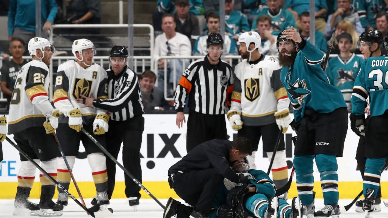 599ffa9bd0a The referees who made the controversial call in Game 7 between the Vegas  Golden Knights and San Jose Sharks will not be moving on to the second  round of the ...