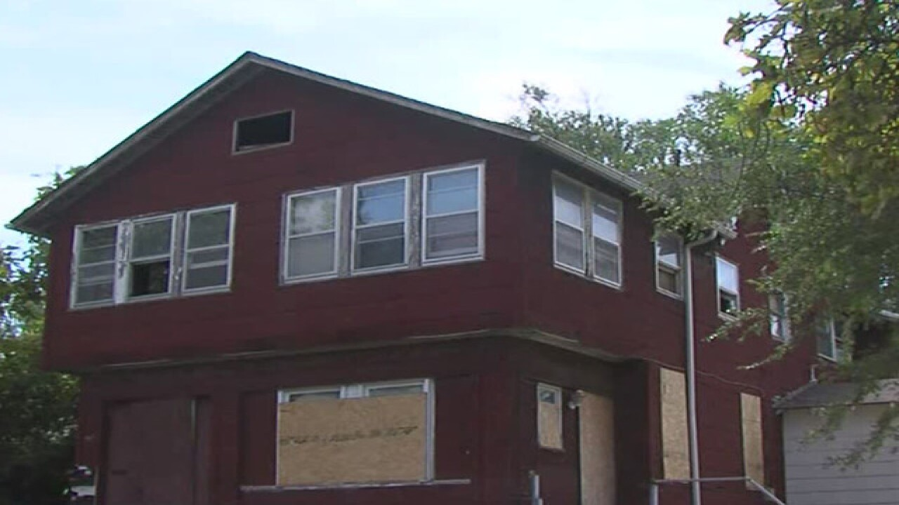Abandoned homes becoming problematic