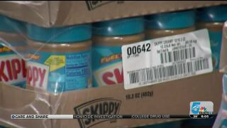Care and Share Peanut Butter Donations