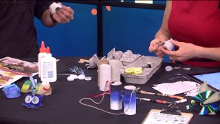 Make free crafty creations from recyclable materials