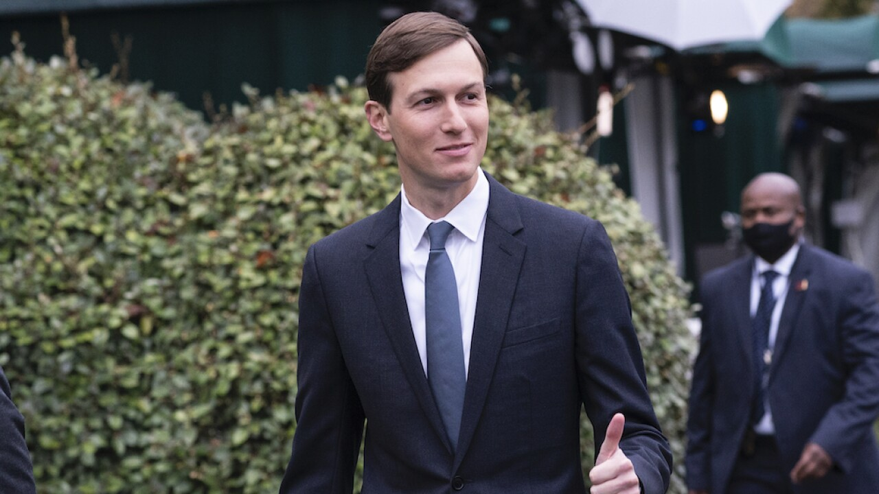 Jared Kushner says that Black people must 'want to be successful'
