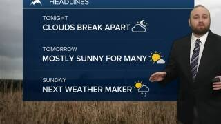 Mild and windy weekend ahead