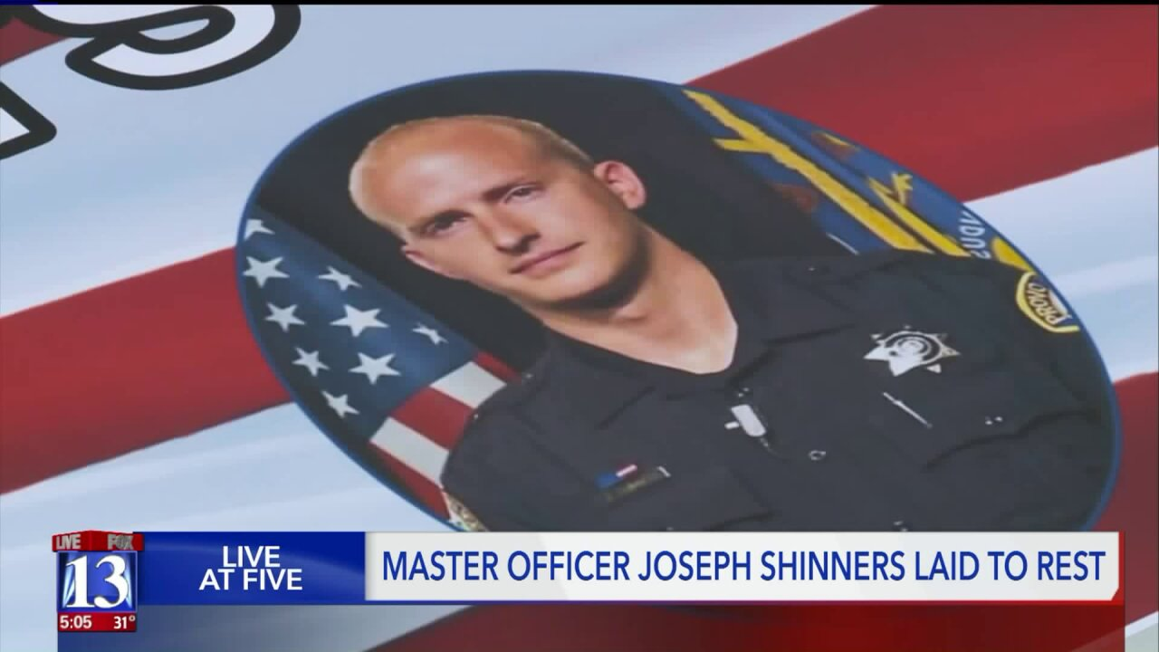 Thousands gather for funeral of fallen Provo Police Officer Joseph Shinners