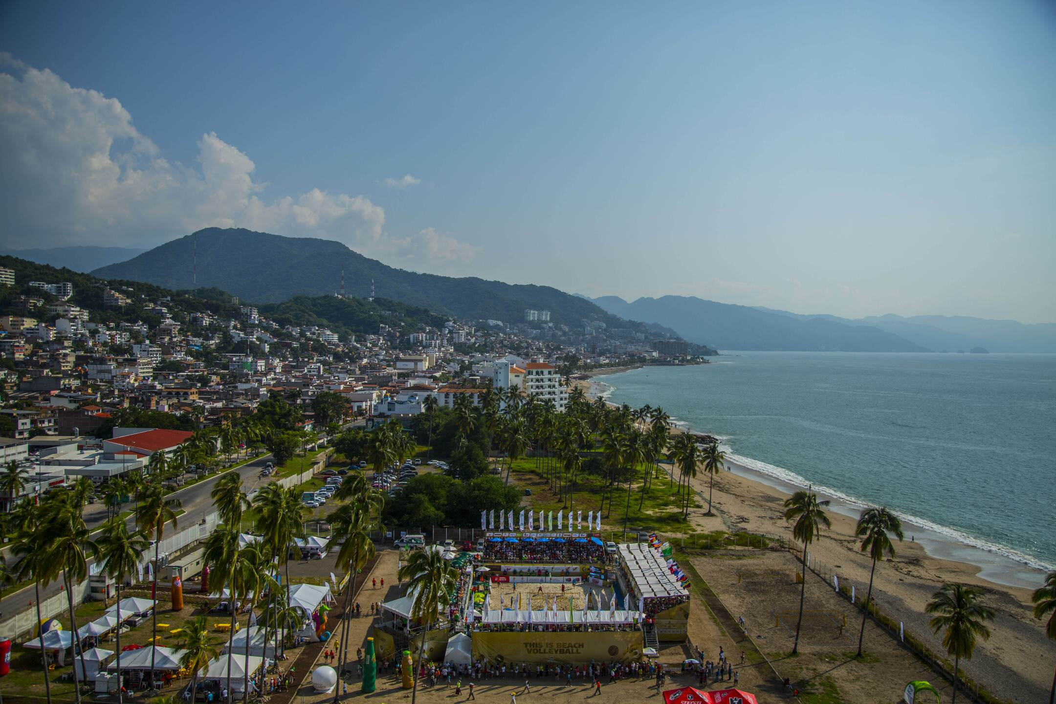 Overview of Puerto Vallarta, Mexico