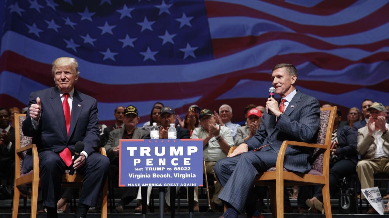 Donald Trump, Michael Flynn