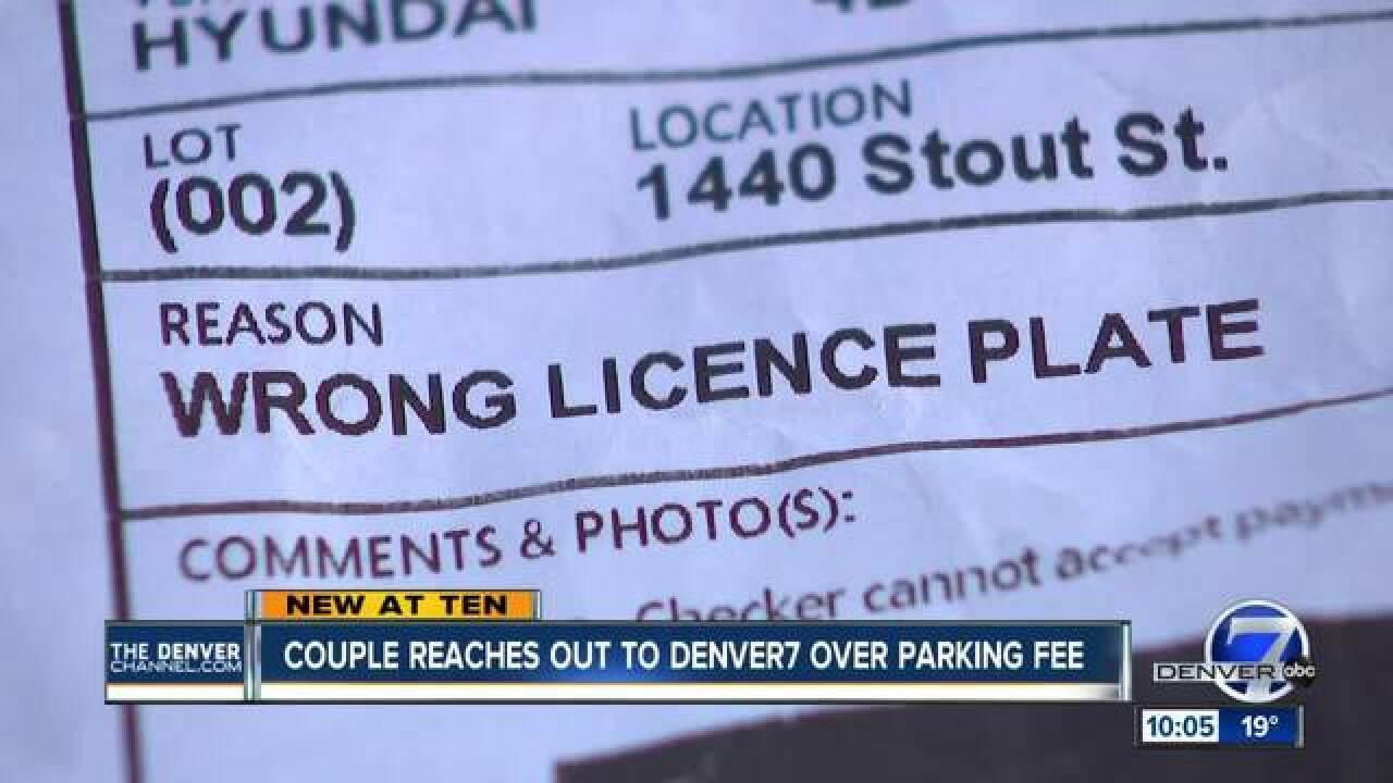 Denver7 helps get ticket voided