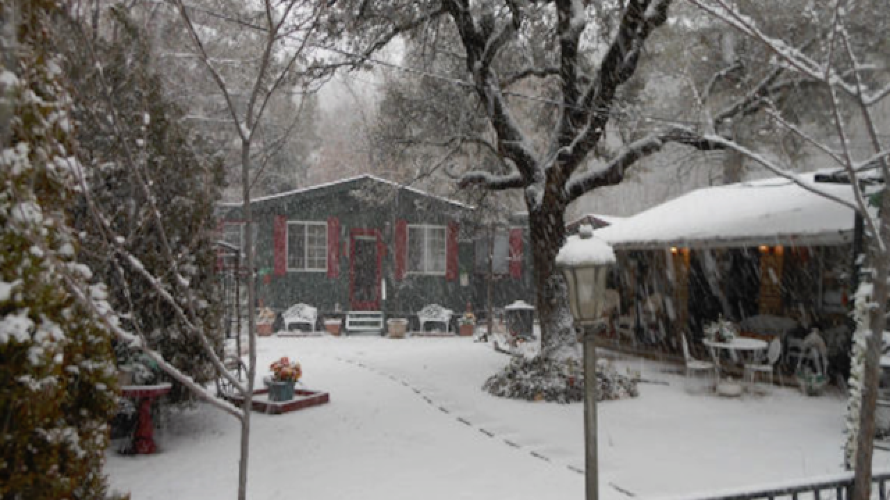 BRR! Cozy cabin adventures to escape to in AZ