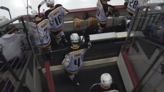 Colorado College blows three goal lead, falls to Omaha in final minute