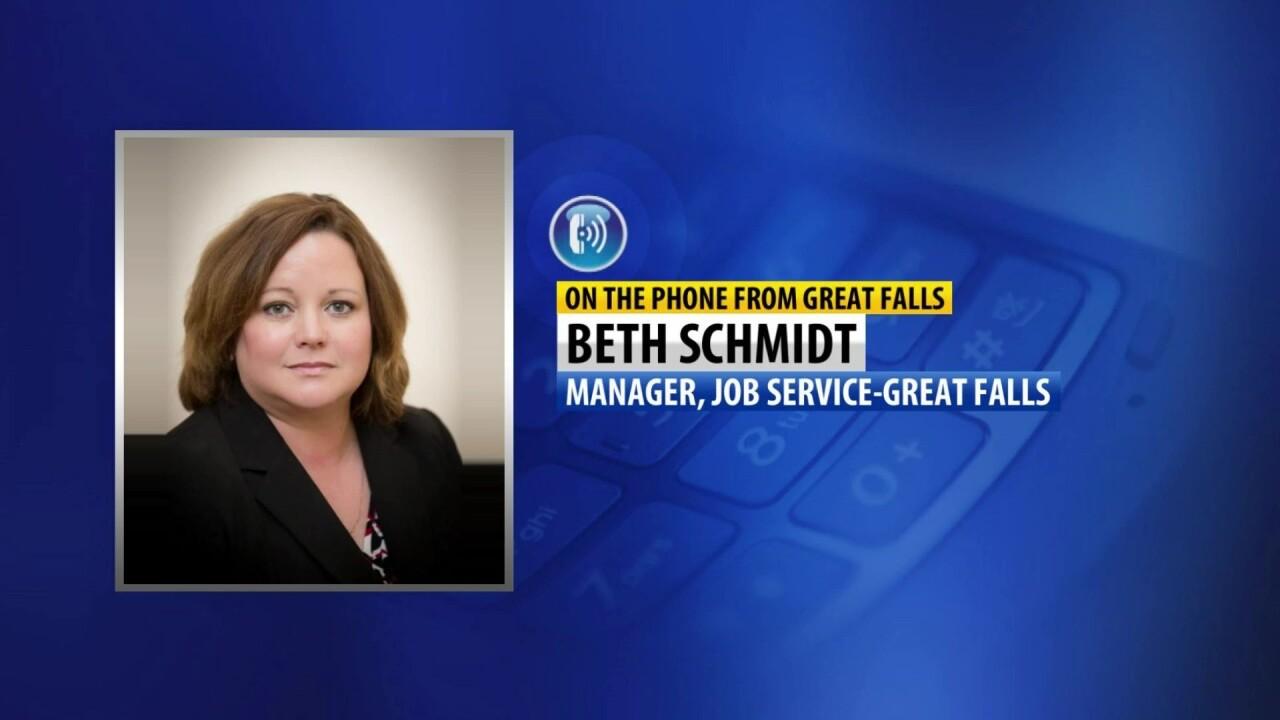 Beth Schmidt, Great Falls Job Service