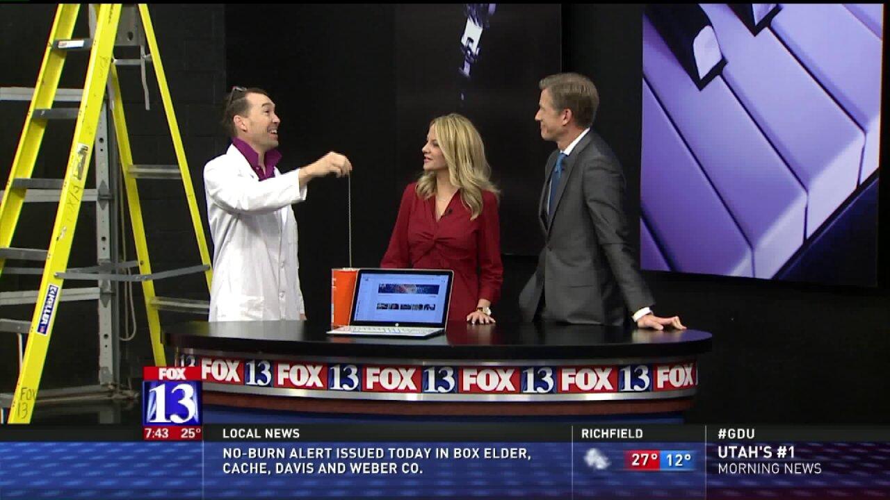 Spark Science defies gravity in Fox 13studio