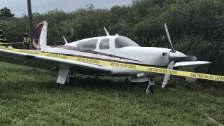 A small plane made an emergency landing on Interstate 75 in Broward County on Sept. 9, 2020.