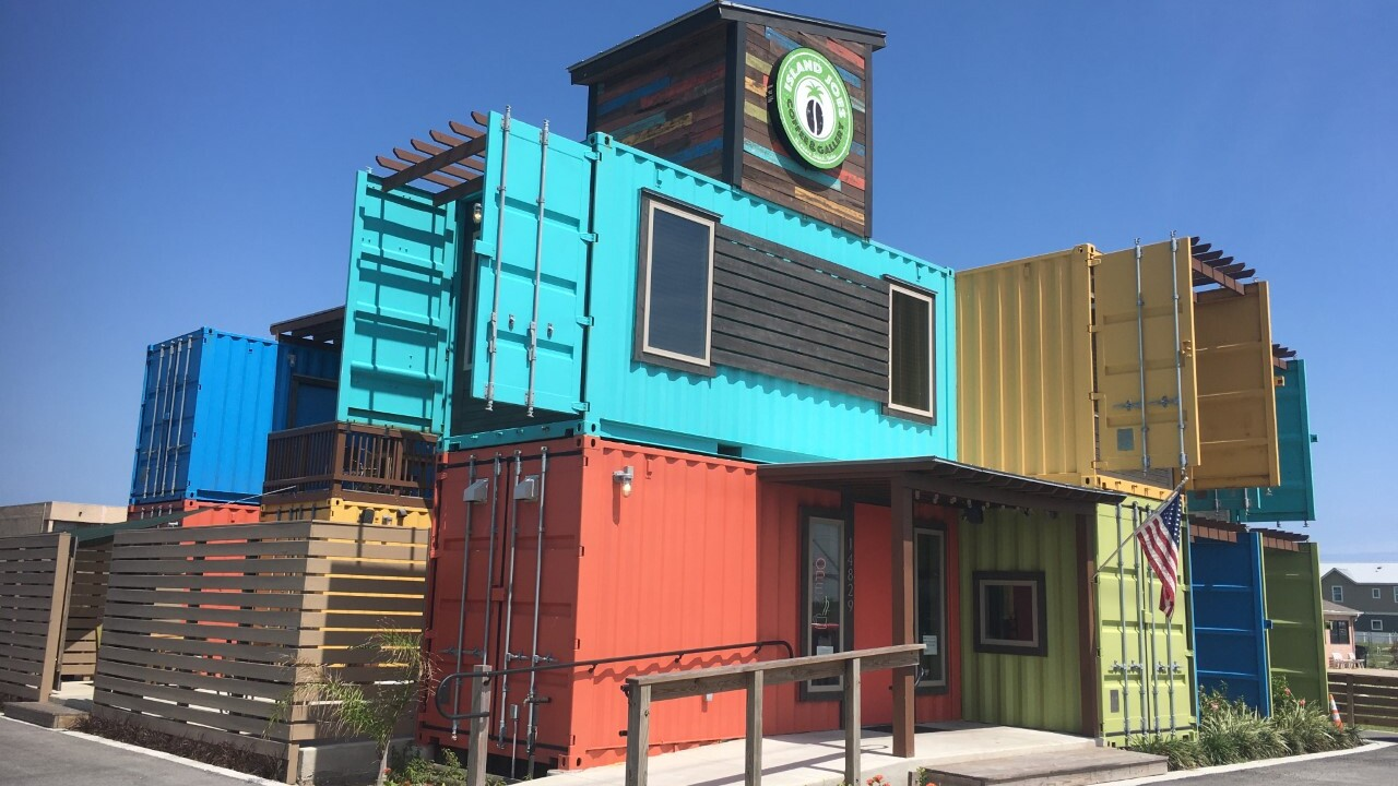 Unique building design sets Island Joes apart from others