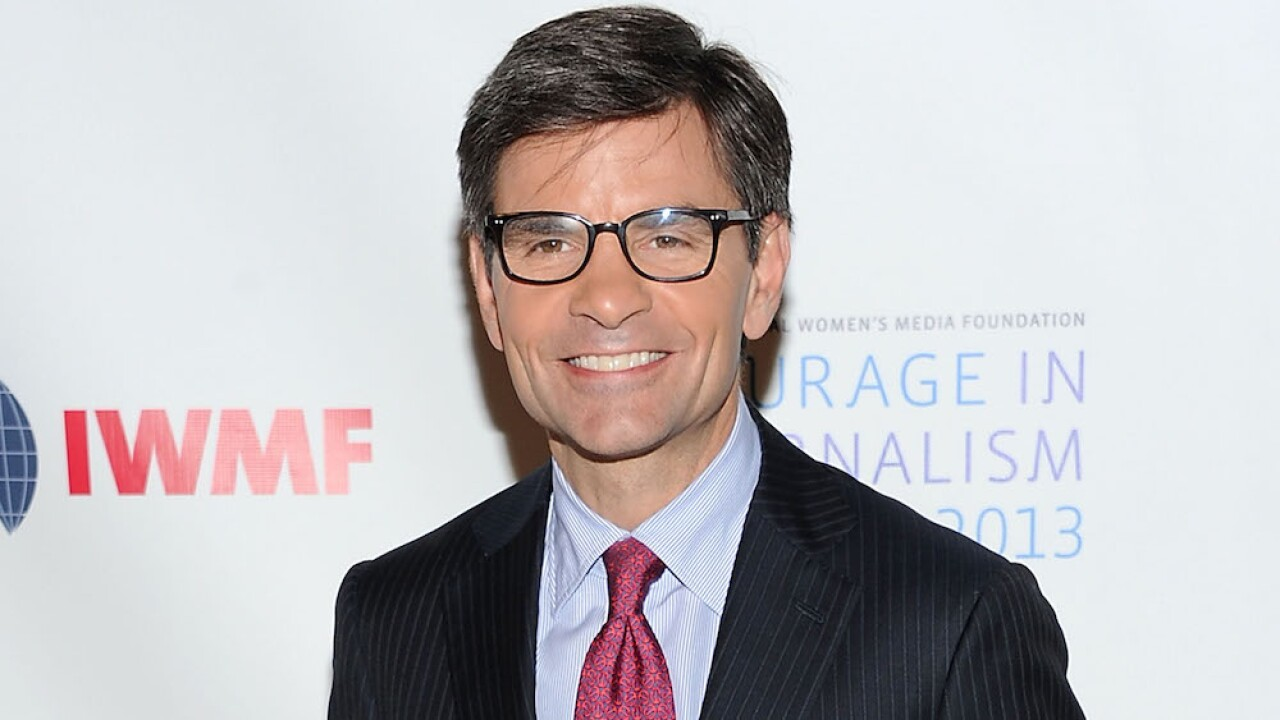 George Stephanopoulos says he's tested positive for COVID-19 despite lack of symptoms