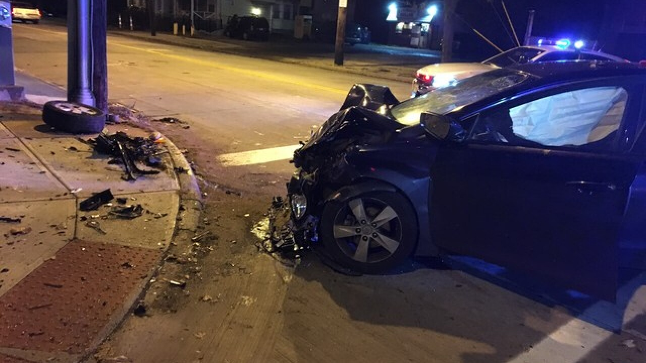 Woman seriously hurt by fleeing driver