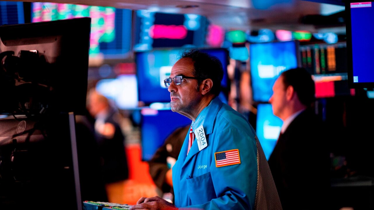 Dow slides as investors get nervous about Europe and trade