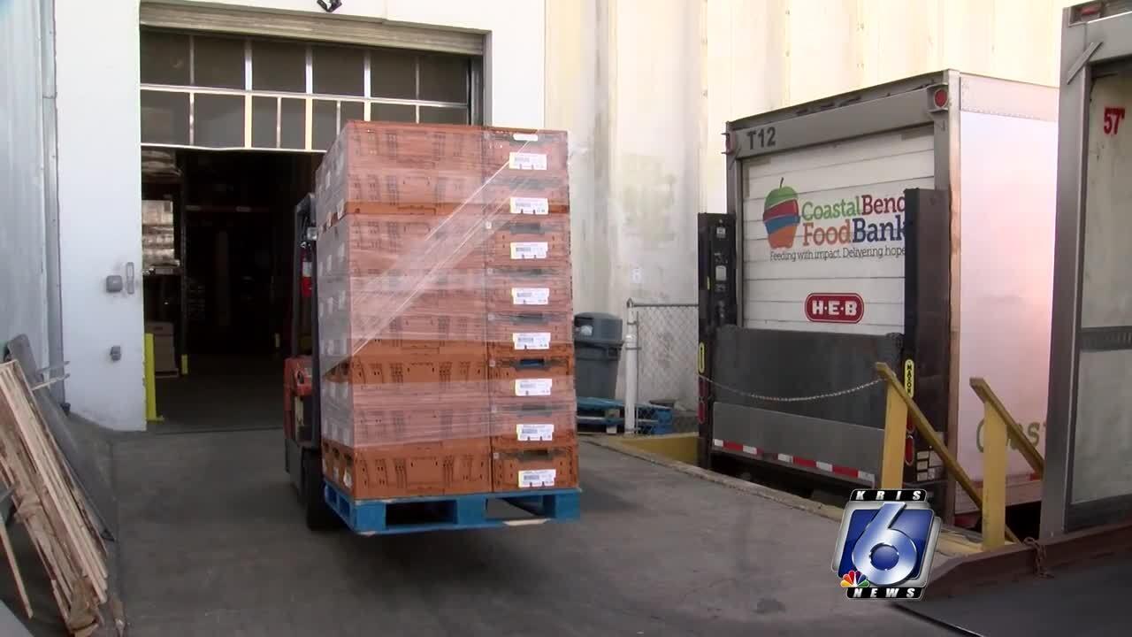 Coastal Bend Food Bank reaching milestones during pandemic