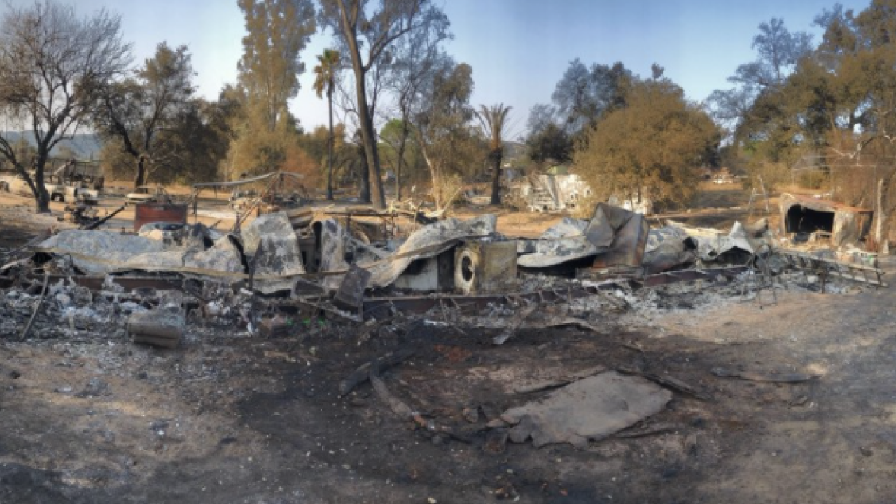 Wildfire victim mourns loss of home, photos of 'great love'