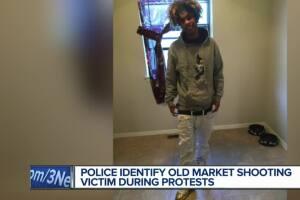 Omaha Police identify protester shot in Old Market Saturday