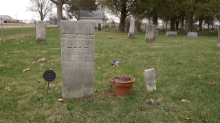Ephraim Wheaton, American Revolutionary War veteran, buried at North Stockbridge Cemetery