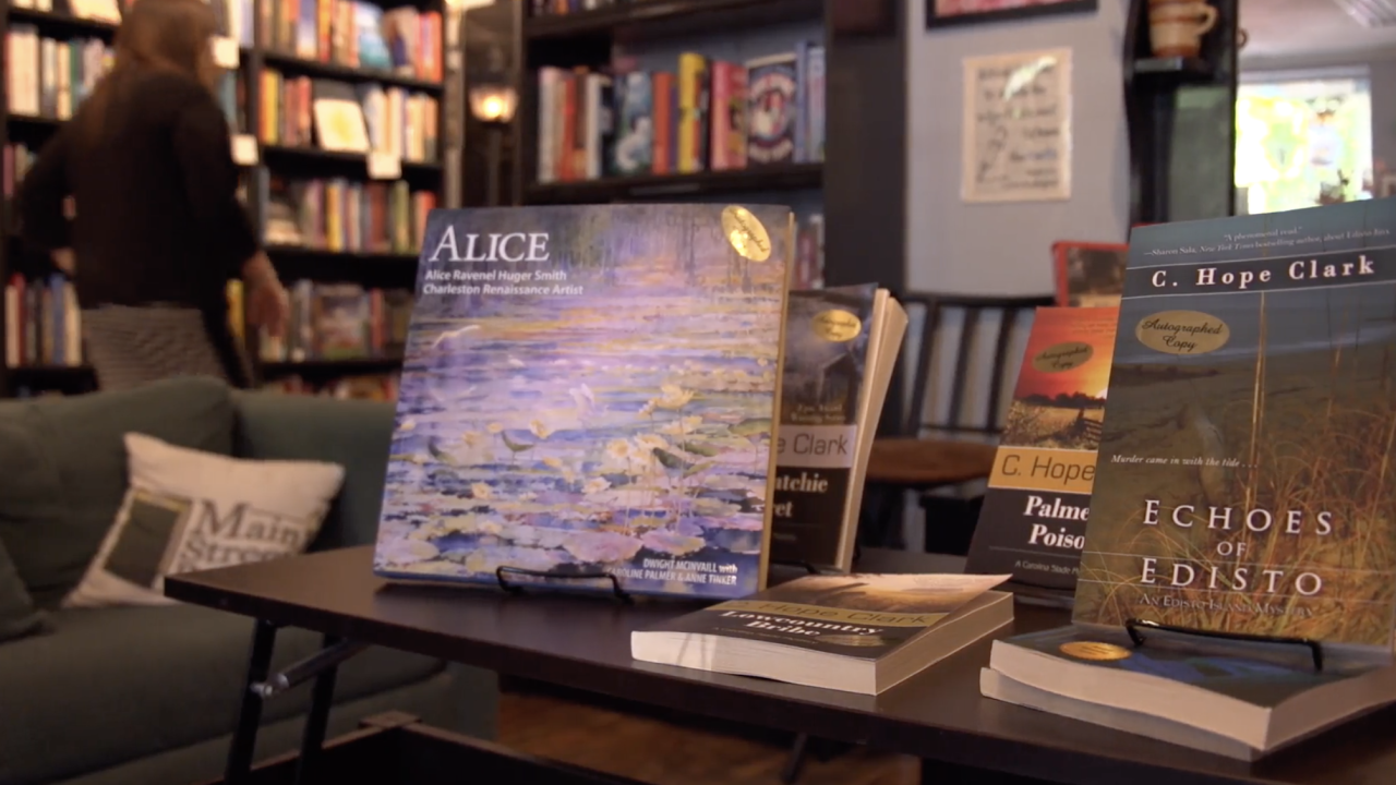 In South Carolina, where Main Street Reads bookstore is located, the number of small businesses open now is down by 26%, when compared to how many were open just prior to the pandemic. Bookstore owner Shari Stauch credits adapting to curbside pickup and online events for helping the business to survive.