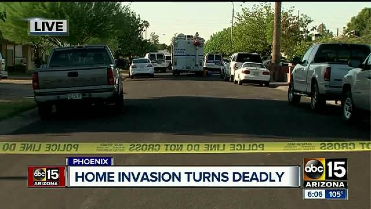 Home invasion ends in shoot-out that killed one