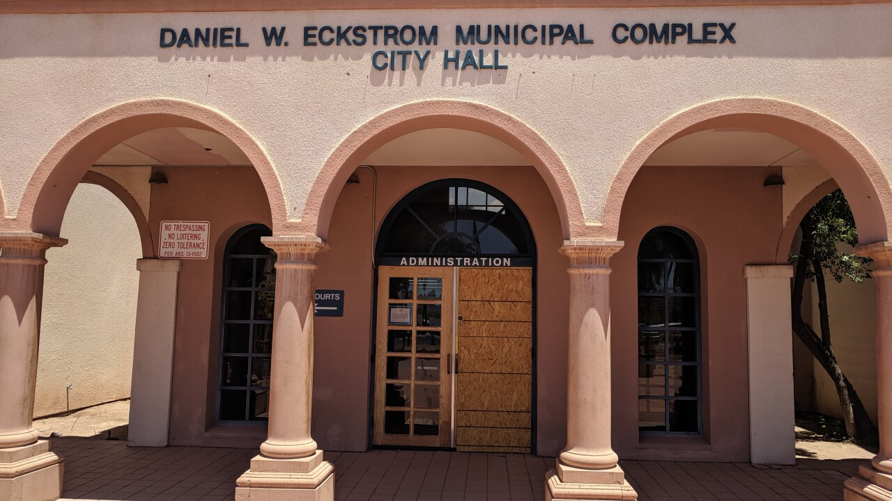 South Tucson City Hall break-in 1