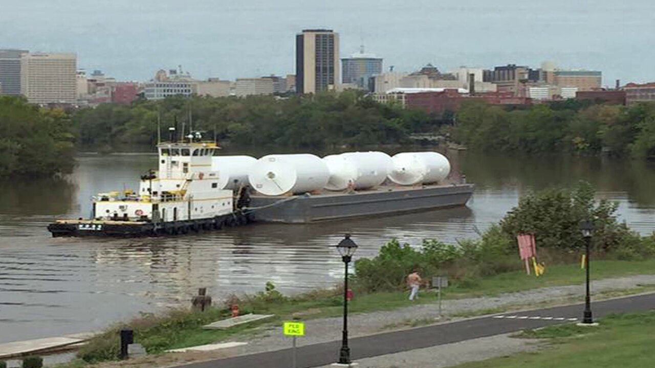 HOLMBERG: Big brew tanks arrive by boat to change our old port