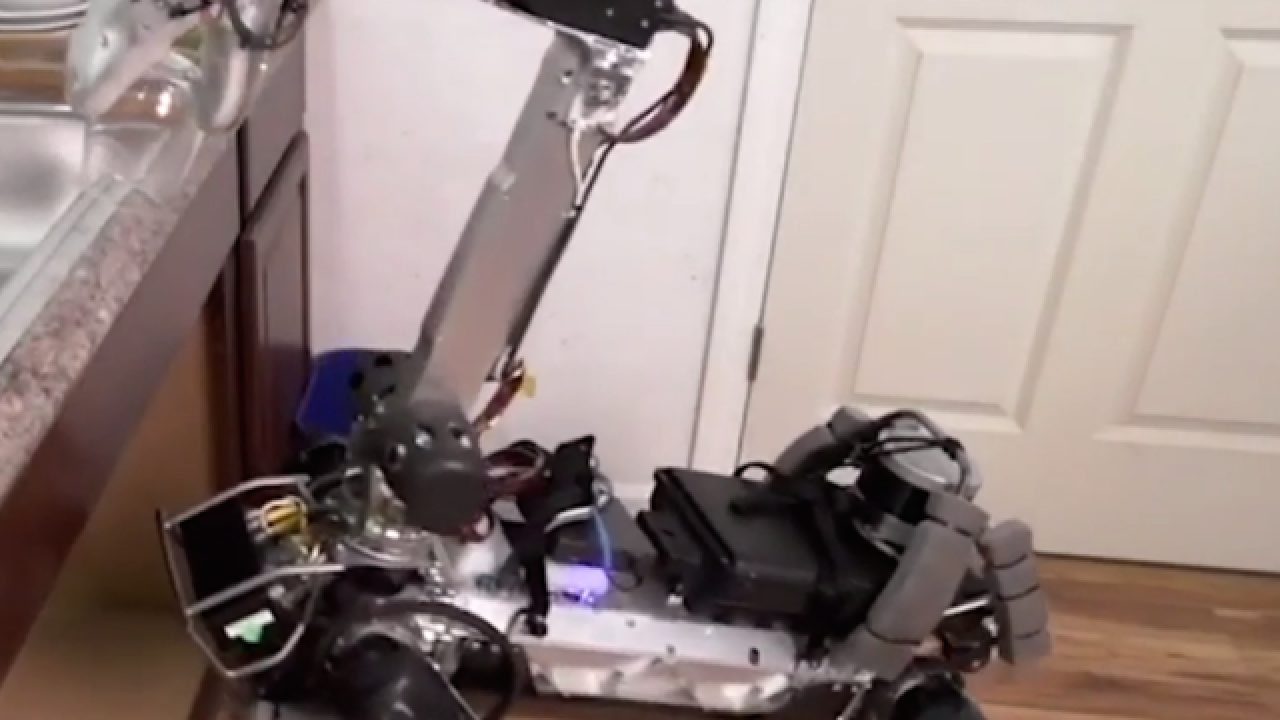 This robot dog can do chores for you