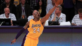 Kobe scores 60 points in farewell victory