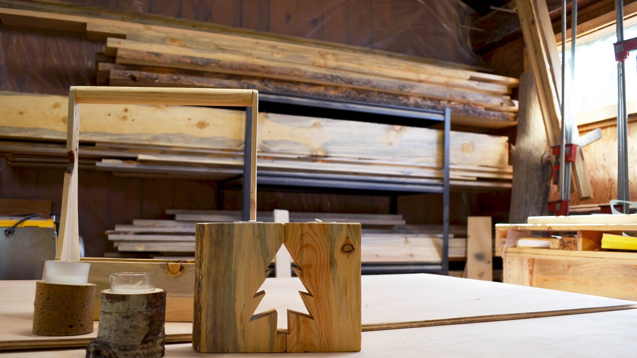 Beauty from beetle-kill: Colorado companies make high-quality furniture, decor from dead trees