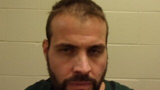 Joshua Pilsch was arrested in the parking lot of Walmart